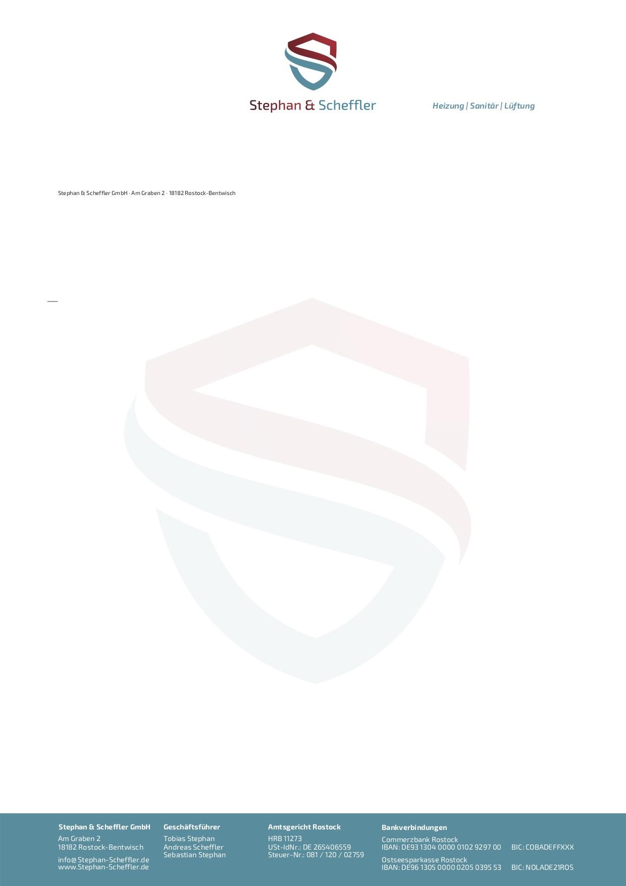 Briefkopf Entwurf 3